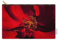 Deep Red Carry-all Pouch