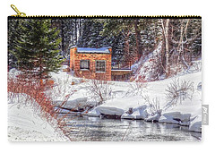 Deep Snow In Spearfish Canyon Carry-all Pouch