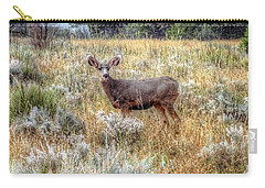 Deer In Garden Of The Gods Carry-all Pouch