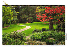 Deer In Lithia Park Carry-all Pouch