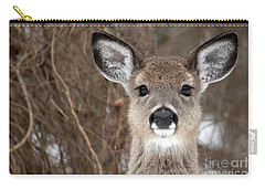 Deer Carry-all Pouch by Jeannette Hunt