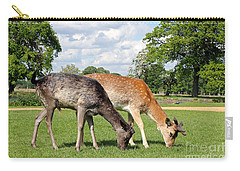 Two Deer Carry-all Pouch