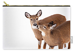 Deer Kisses Carry-all Pouch by Karol Livote