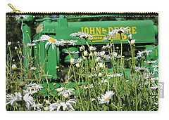 Carry-all Pouch featuring the photograph Deere 1 by Lynn Sprowl