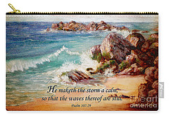 Deerfield Wave Psalm 107 Carry-all Pouch