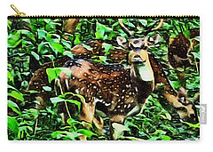 Deer's Green Day Carry-all Pouch