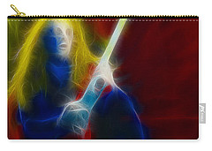 Def Leppard-adrenalize-ga5-vivian-fractal Carry-all Pouch by Gary Gingrich Galleries