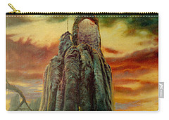 Defenders Of Rocky Desert Carry-all Pouch by Henryk Gorecki