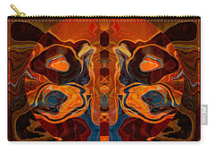 Deities Abstract Digital Artwork Carry-all Pouch