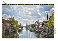 Carry-all Pouch featuring the photograph Delfshaven Rotterdam by Frans Blok