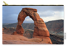 Delicate Arch - Arches National Park - Utah Carry-all Pouch by Aidan Moran