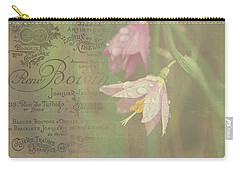 Delicate Blooms Carry-all Pouch by Sharon Elliott
