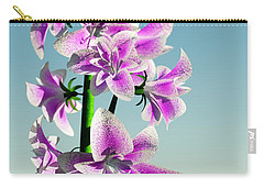 Delicate Flower... Carry-all Pouch by Tim Fillingim