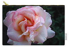Carry-all Pouch featuring the photograph Delicate Pink by Joyce Dickens