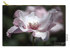 Delicate Pink Carry-all Pouch by Sharon Elliott
