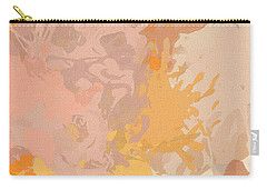 Delicately Peach Carry-all Pouch by Lourry Legarde