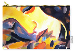 Carry-all Pouch featuring the painting Delight by Helena Wierzbicki