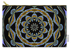Carry-all Pouch featuring the digital art Delight by Oksana Semenchenko