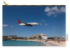Delta 737 St. Maarten Landing Carry-all Pouch