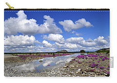 Carry-all Pouch featuring the photograph Delta Junction Summer by Cathy Mahnke