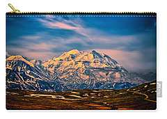 Denali At Sunset Carry-all Pouch