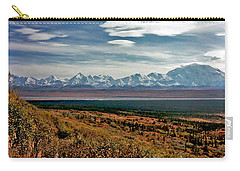 Carry-all Pouch featuring the photograph Denali Colors by Jeremy Rhoades