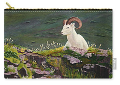 Denali Dall Sheep Carry-all Pouch by Mike Robles