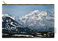 Carry-all Pouch featuring the photograph Denali National Park Panorama by John Haldane