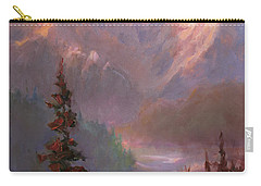 Denali Summer - Alaskan Mountains In Summer Carry-all Pouch