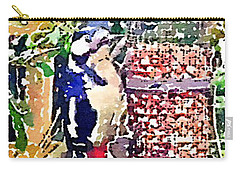 Dendrocopos Major 'great Spotted Woodpecker' Carry-all Pouch