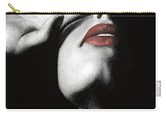 Carry-all Pouch featuring the painting Denial by Pat Erickson
