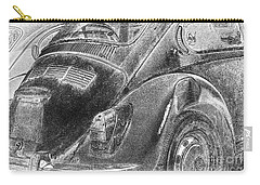 Carry-all Pouch featuring the photograph Dented Ego by Jean OKeeffe Macro Abundance Art