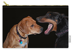 Carry-all Pouch featuring the photograph Dentist by Mim White
