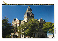 Denton County Courthouse Carry-all Pouch by Allen Sheffield