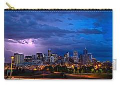 Denver Skyline Carry-all Pouch by John K Sampson