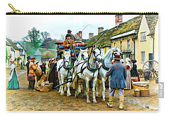 Departing Cranford Carry-all Pouch by Paul Gulliver