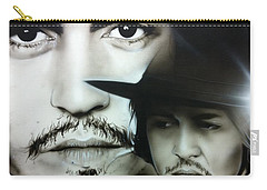 Johnny Depp - ' Depp ' Carry-all Pouch by Christian Chapman Art