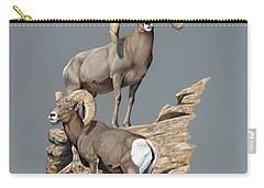Desert Bighorn Rams Carry-all Pouch