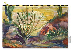 Desert Color Carry-all Pouch