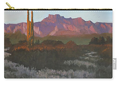 Desert Sunset Glow Carry-all Pouch