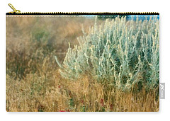 Desert Flowers Carry-all Pouch by Michelle Calkins