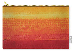 Desert Horizon Original Painting Carry-all Pouch