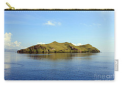 Carry-all Pouch featuring the photograph Desert Island by Sergey Lukashin