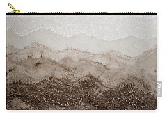Desert Mountain Mist Original Painting Carry-all Pouch