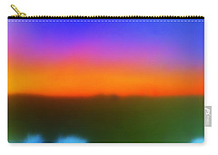 Desert Sun Abstract Carry-all Pouch by Deborah  Crew-Johnson