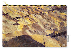Desert Undulations Carry-all Pouch by Mike  Dawson