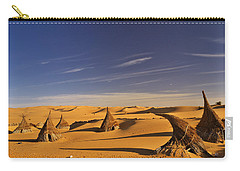 Desert Village Carry-all Pouch