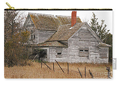 Carry-all Pouch featuring the photograph Deserted House by Mary Carol Story