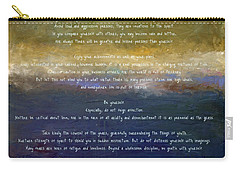 Desiderata Lll Carry-all Pouch