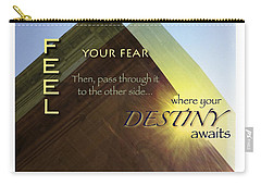 Your Destiny Waits Carry-all Pouch by Mark David Gerson